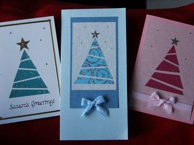Новогодние открытка своими руками фото